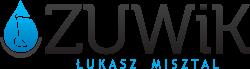 Zakład Usług Wodnych i Komunalnych Lukasz Misztal Logo