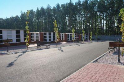 rozbudowa cmentarza komunalnego Starachowice