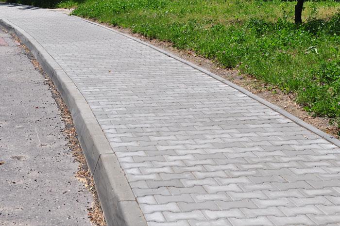 remont chodnika ul .Medyczna